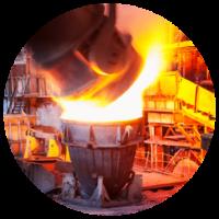 Industrial processes (e.g., steel, refining, methanol, ammonia)