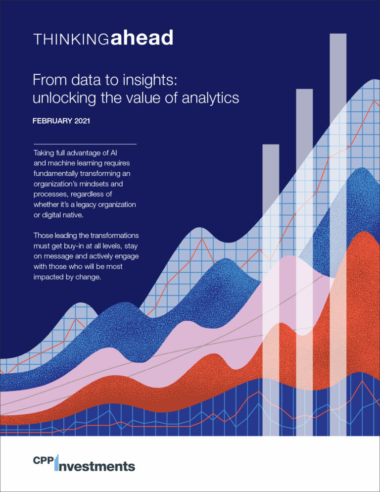 From data to insights - unlocking the value of analytics