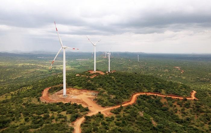 Ellutla windturbines